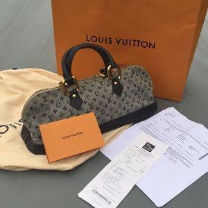 Louis Vuitton Alma Long, Monogram Mini Bag